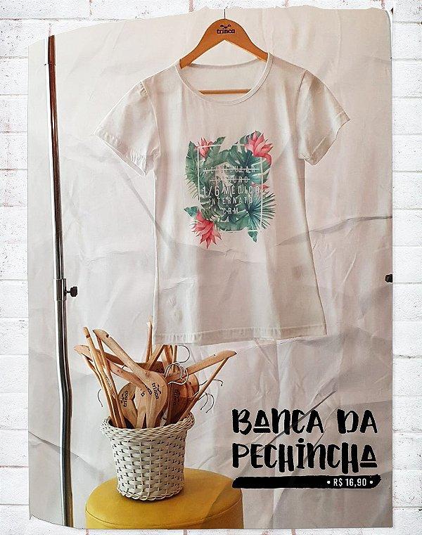 Camiseta Universitária - Medicina - 1/6 médico - Basic