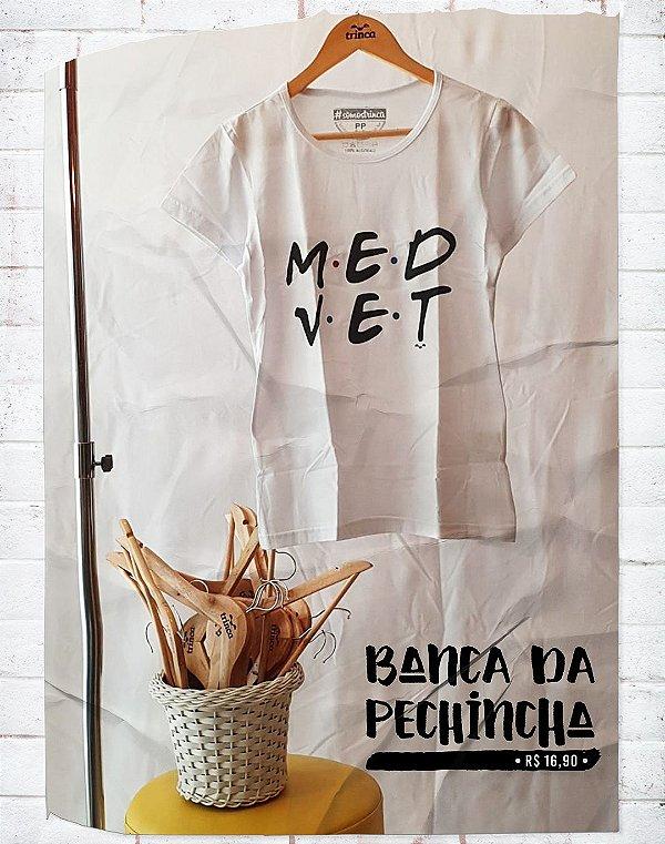Camiseta Universitária - Medicina Veterinária - Friends - Basic