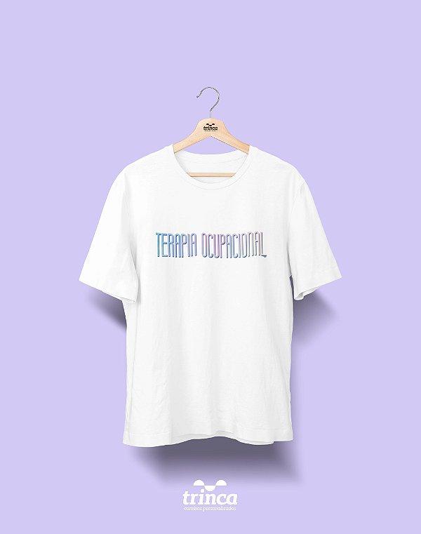 Camiseta Universitária - Terapia Ocupacional - Tie Dye - Basic