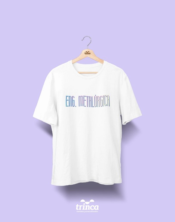 Camiseta Universitária - Engenharia Metalúrgica - Tie Dye - Basic