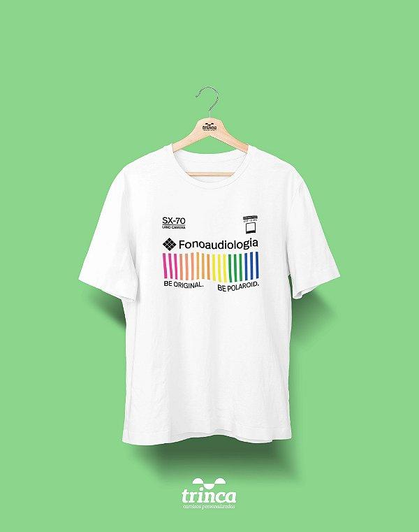 Camiseta Universitária - Fonoaudiologia - Polaroid - Basic