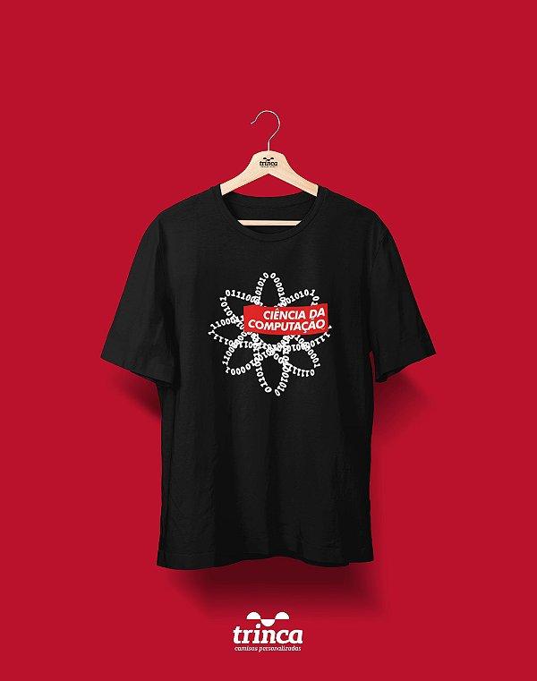 Camiseta Universitária - Ciência da Computação - Supreme - Basic