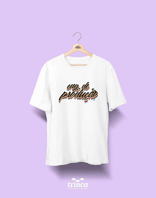 Camiseta Universitária - Engenharia de Produção - Grafite - Basic