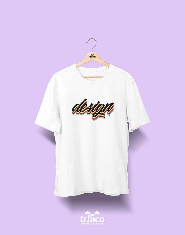 Camiseta Universitária - Design Gráfico - Grafite - Basic
