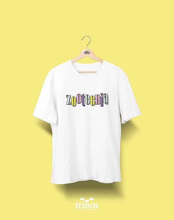 Camiseta Universitária - Zootecnia - 90's - Basic