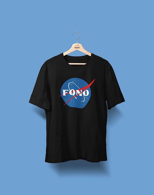 Camiseta Universitária - Fonoaudiologia - Nasa - Basic
