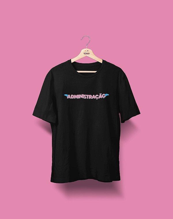 Camiseta Universitária - Administração - Voe Alto - Basic