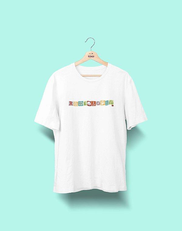 Camiseta Universitária - Radiologia - Colagem - Basic
