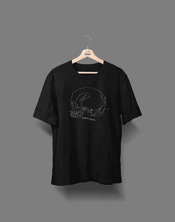 Camiseta Universitária - Radiologia - Fine Line - Basic