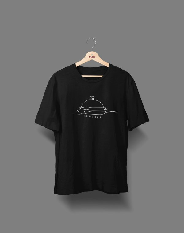 Camiseta Universitária - Gastronomia - Fine Line - Basic