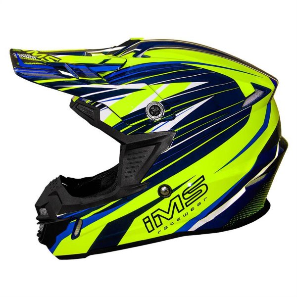 Capacete off road IMS action Pro Fluo