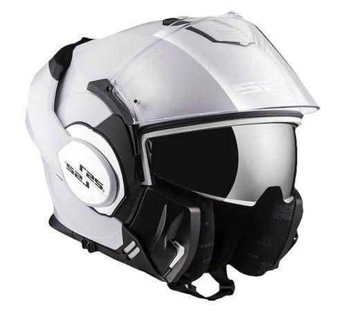 LS2 CAP VALIANT FF399 MONOCOLOR WHITE