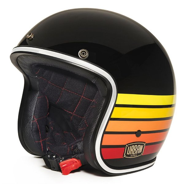 CAPACETE URBAN TRACER FIRE STRIPES