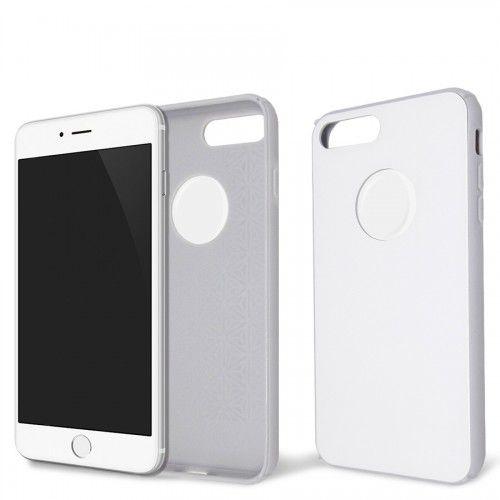 Capa Antichoque Glass Case White para iPhone 7 plus/8 plus