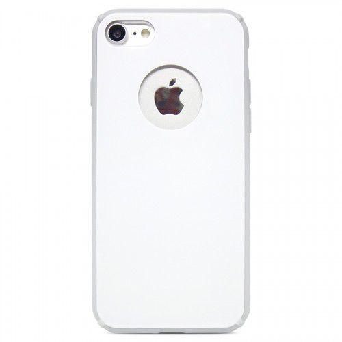 Capa Antichoque Glass Case White para iPhone 7/8