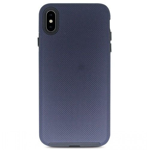 Case Dupla Antichoque Strong Duall Midnight Blue XS MAX