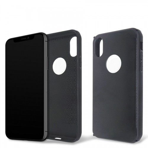 Capa Antichoque Glass Case Space Gray para iPhone X e Xs