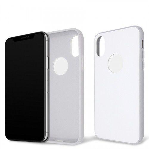 Capa Antichoque Glass Case White para iPhone X e Xs