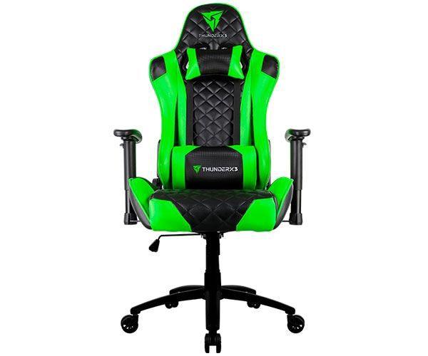 Cadeira Gamer ThunderX3 TGC12 Preto/Verde