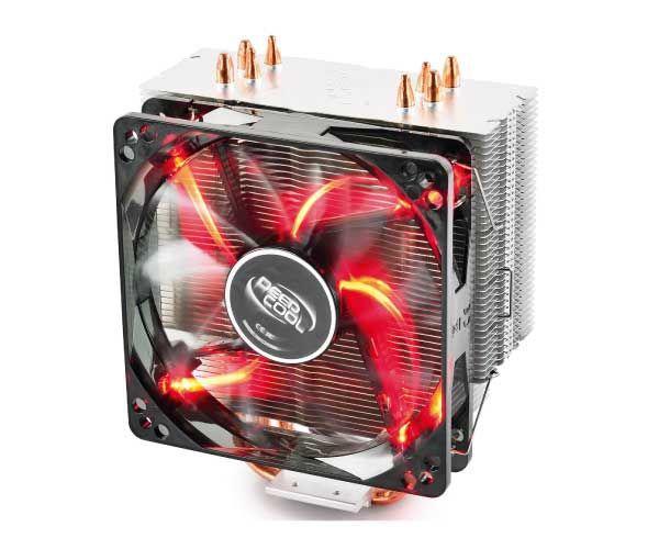 Cooler Deepcool Gammaxx 400 LED Vermelho
