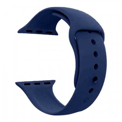 Pulseira para Apple Watch em Silicone Midnight Blue 42/44mm