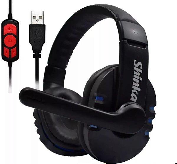Headset Gamer USB Q7 Shinka