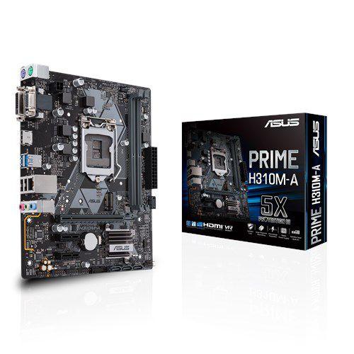 PRIME H310M-A Placa-mãe Intel ASUS