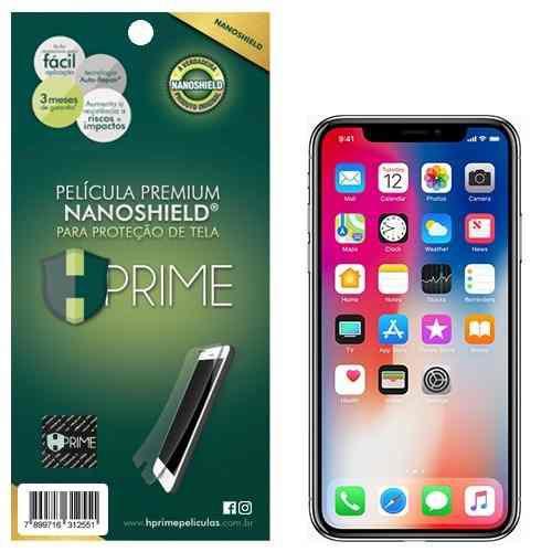 Película Premium HPrime Silicone iPhone NanoShield®