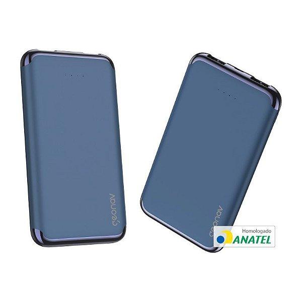 Carregador Portátil Azul Marinho- 6.000 mAh
