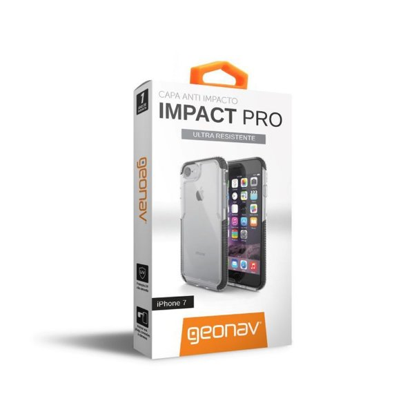 Capa Iphone 7 / 8 Impact PRO Preta