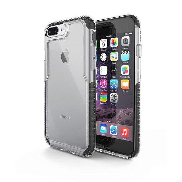Capa Iphone 7 Plus / 8 Plus Impact PRO Preta