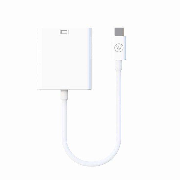 Cabo Adaptador USB-C para VGA iWill