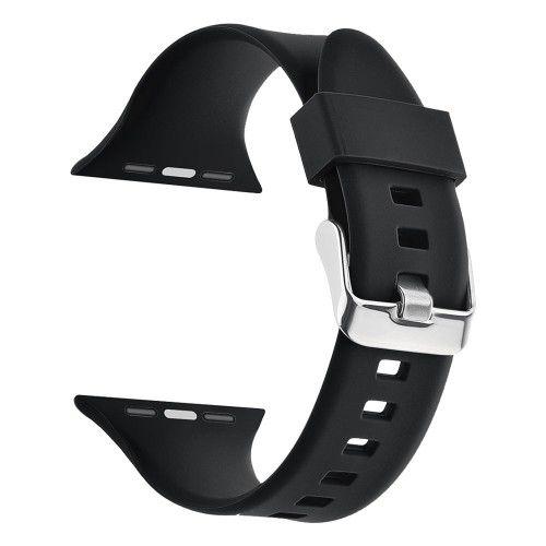 Pulseira para Apple Watch® WatchBand - Silicone com Fivela Preta
