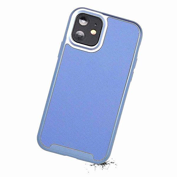 Duall Frame para iPhone 11 Azul - Capa Antichoque Dupla