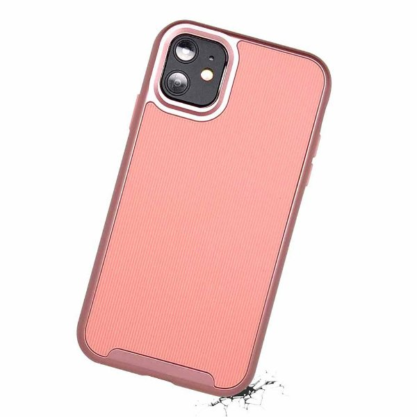 Duall Frame para iPhone 11 Rosa - Capa Antichoque Dupla