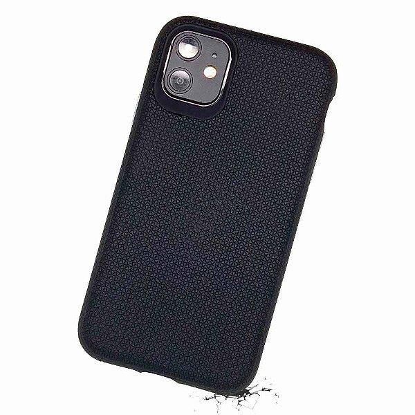 Double Case para iPhone 11 Preta - Capa Antichoque Dupla