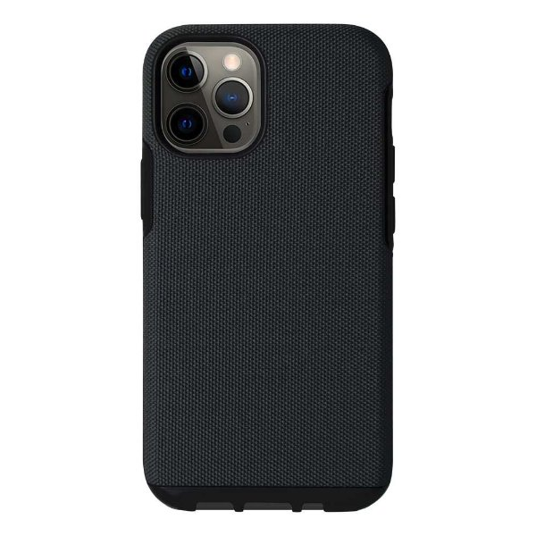 Elite Case para iPhone 12 / 12 Pro Preto - Capa Antichoque Tripla