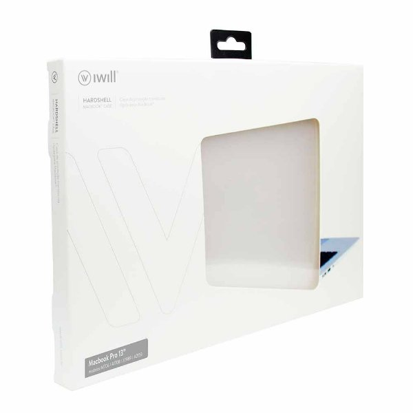 "Capa Hardshell MacBook Pro® 13"" A1706 / A1708 / A1989 / A2159 Translúcida - DMA132TR"