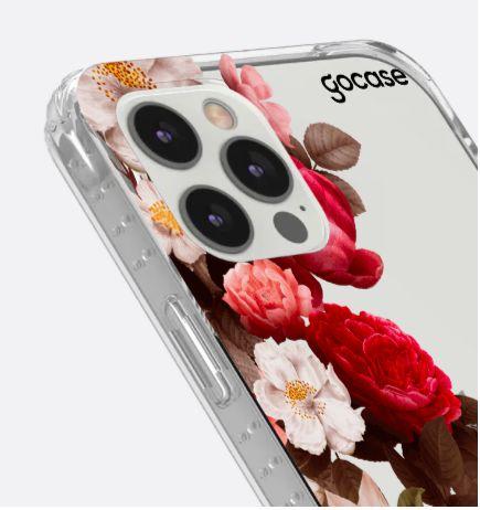 Capinha Impact Slim - Flores Clássicas - iPhone 12/12PRO
