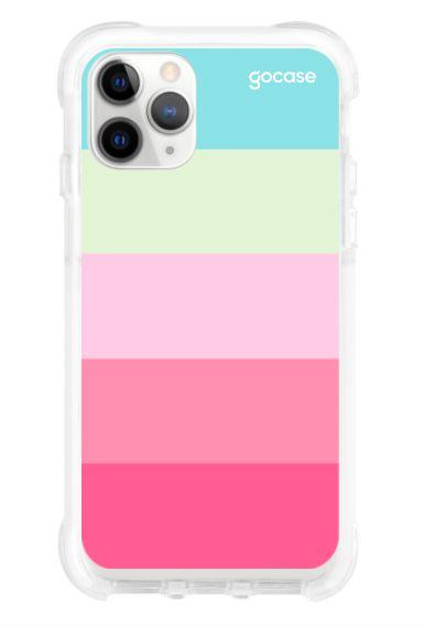 Capinha Antishock White - Minha Paleta - iPhone 11 Pro