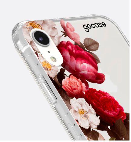 Capinha Impact Slim - Flores Clássicas - iPhone XR