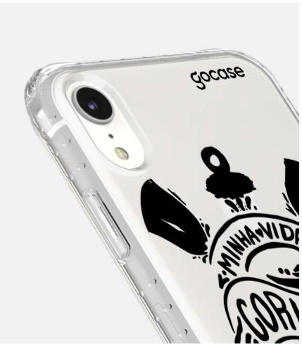 Capinha Impact Slim - Corinthians Minha Vida - iPhone XR