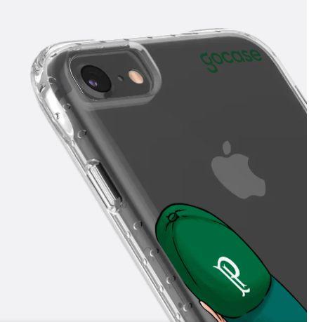 Capinha Impact Slim - Torcedor Palmeiras - iPhone 6/7/8/SE2020