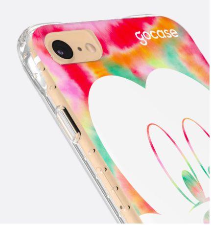 Capinha Impact Slim - Mickey Color Tiedye - iPhone 6/7/8/SE2020