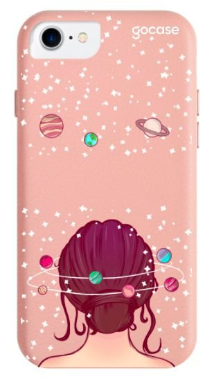 Capinha Rose Fascino - Mente Universo - iPhone 6/7/8/SE2020