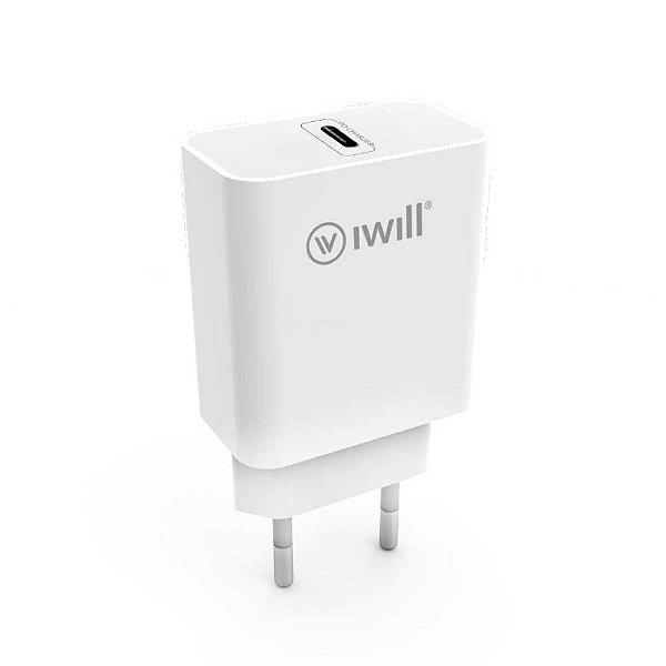 Adaptador De Parede USB-C - iWill