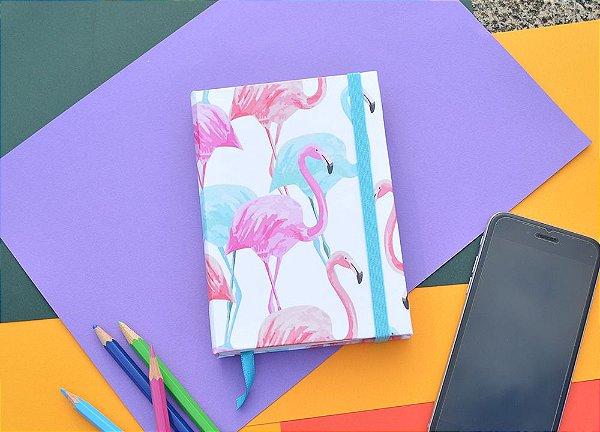 Sketchbook Flamingo fundo branco