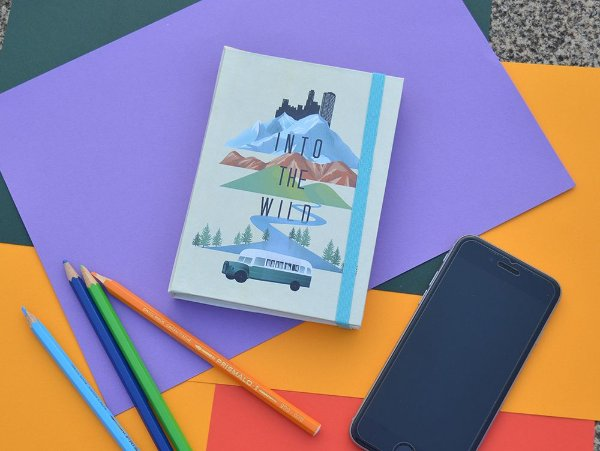 Sketchbook Into the wild