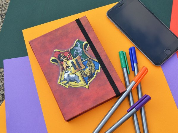 Sketchbook  Harry Potter Brasão