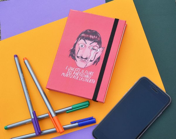 Sketchbook  Casa de Papel